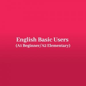 English Basic Users